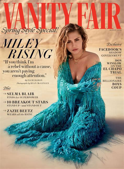 Vanità Fair Miley Cyrus Vanity Fair March 2019