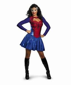 Adult Spider Girl Movie Halloween Costume - Women Costumes
