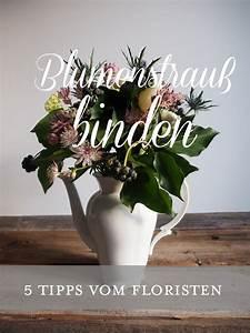 Buch Selber Binden Spirale : blumenstrau binden 5 tipps vom floristen ~ Frokenaadalensverden.com Haus und Dekorationen
