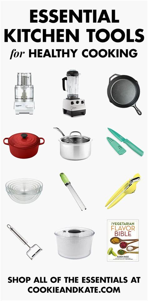 find   essential kitchen tools  healthy cooking
