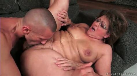 old vagina fucked in a missionary sex scene mature porn