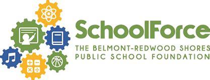 schoolforce belmont redwood shores public school foundation