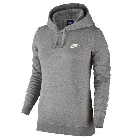 Bizz Store Moletom Feminino Nike NSW Hoodie Fleece Com Capuz