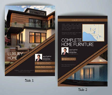 high  real estate flyers google search inspire