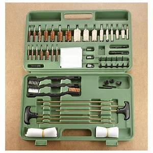 Guide Gear Universal Gun Cleaning Kit  62 Pieces