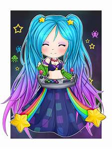 Chibi Arcade Sona - League of Legends by linkitty on ...