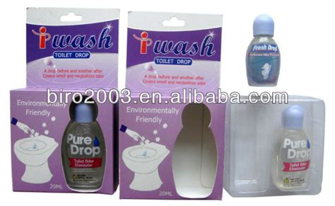 2 x fresh drop bathroom odor preventor deodorizer