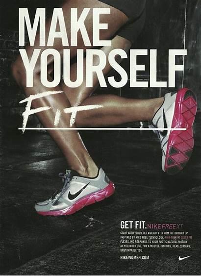 Fitness Advertising Keep Nike Workin Reminds Marketing