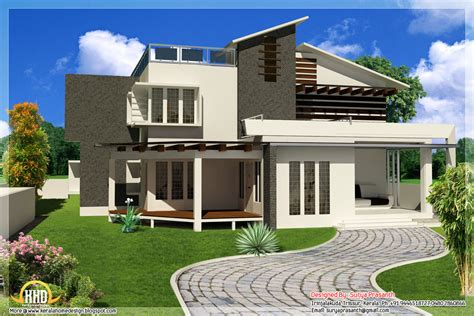 home design contemporary mix modern home designs kerala home