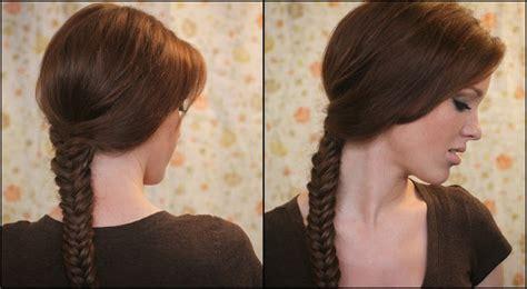 the freckled fox the basics hair week tutorial 3 the fishtail braid