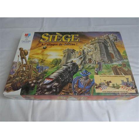siege jeu siège a l 39 attaque du chateau jeu mb 1993 jouets