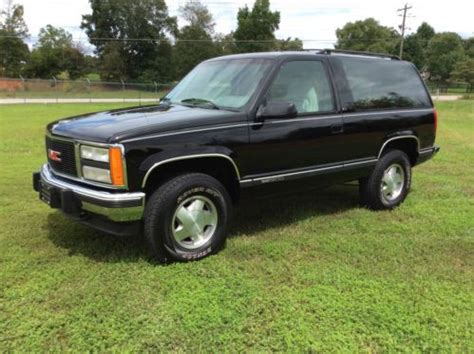 auto air conditioning repair 1993 gmc yukon head up display find used 1993 gmc yukon 2dr 4x4 low miles in cleveland georgia united states