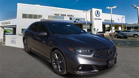 Acura Hatchback 2019 by New 2019 Acura Tlx 3 5 V 6 9 At Sh Awd With A Spec 4dr