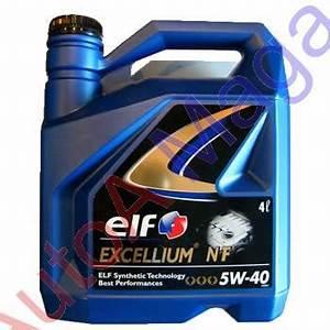 Diesel Excellium : ulei motor elf 5w40 4l excellium ulei auto si aditivi autoa magazin ~ Gottalentnigeria.com Avis de Voitures