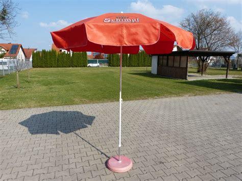 Sonnenschirm Kleiner Durchmesser by Kleiner Sonnenschirm Brauerei Schimpf