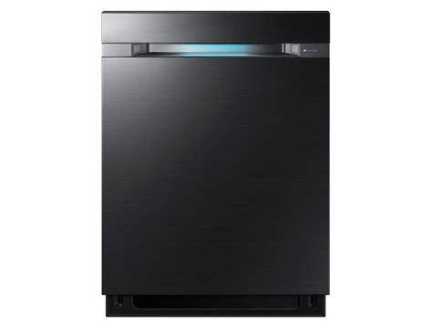 samsung dwmug   built  top control dishwasher black stainless steel