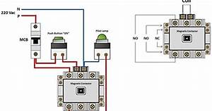Working Principle Of Magnetic Contactor And Contact Point No  Nc