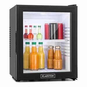 Mini Kühlschrank Glas : mks 13 minibar 32 liter klasse a schwarz glas 0db klarstein ~ Buech-reservation.com Haus und Dekorationen
