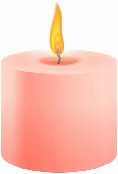 Candle Clipart Clip Pillar Candles Cliparts Clipground