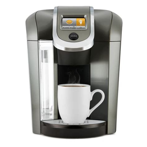 A cheap single serve coffee maker will produce poor coffee drinks, regardless of the capsules, k cups or ground coffee used. Keurig K525 Plus Single Serve Coffee Maker-119305 - The Home Depot