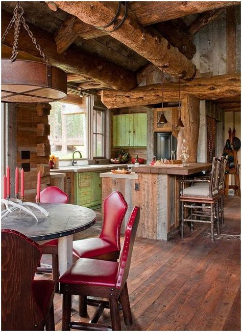 amazing log cabin interiors     awestruck