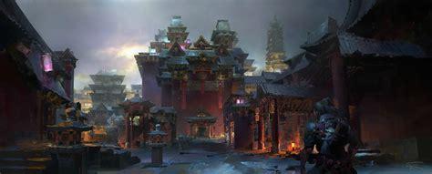 artstation city  changan ruan jia