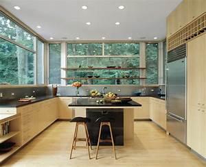 Cuisine Avec Ilot : cuisine ilot central cuisine avec blanc couleur ilot ~ Melissatoandfro.com Idées de Décoration