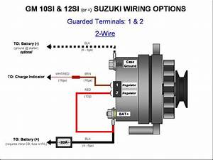 U00bb Gm 10si  12si Alternator Wiring -  2-wire