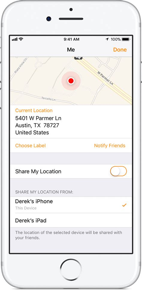 how do i turn my location on my iphone about find my friends apple support