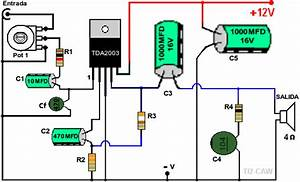 Simple Circuit Of Amplificador