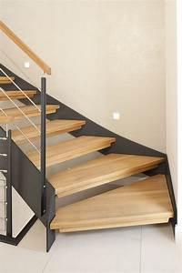 Treppen Aus Glas : 1 4 gewendelte hpl treppe mit stufen und handlauf in der holzart eiche ge lt milano gel nder ~ Sanjose-hotels-ca.com Haus und Dekorationen