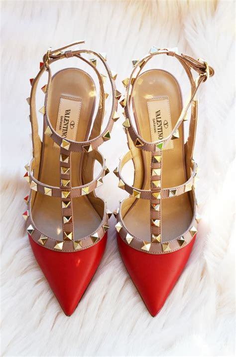 red valentino shoes ideas  pinterest