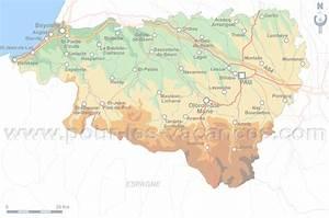 pays basque pyrenees atlantiques chambres d39hotes carte With chambres d hotes pyrenees atlantiques
