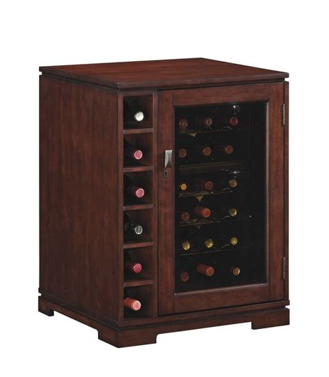 Wine Refrigerator Cabinet by Cabernet 18 Bottle Dual Zone Wine Cooler Cabinet