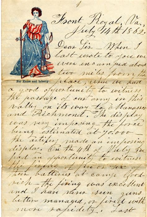 civil war letters is that a family heirloom familytree