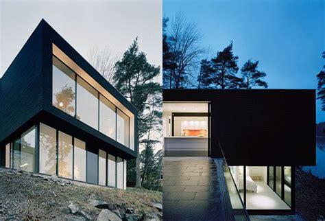 hillside home plans hillside house plan makes contemporary look earthy modern house designs