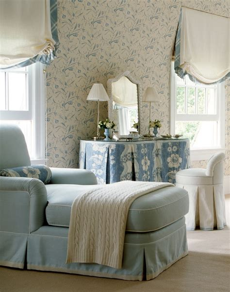 chaise boudoir a lovely boudoir that features blue white print