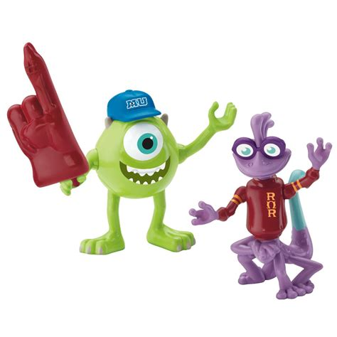 monster university toys mike and randy 2 pack at toystop