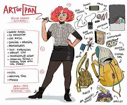 Meet Artist Deviantart Artofpan Character Traits Drawing