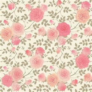 Beautiful pink rose seamless pattern vector - Vector ...