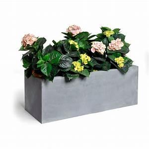 bac a plante pas cher With affiche chambre bébé avec bac à fleurs ciment