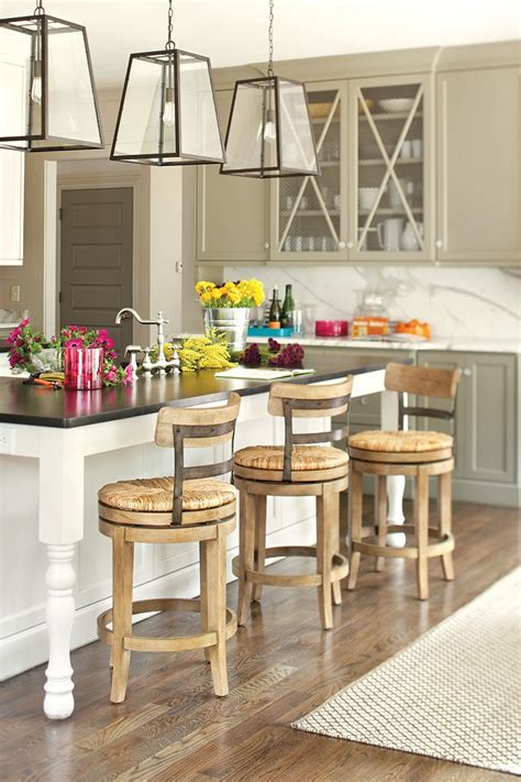 how to decorate your kitchen table 15 favorite kitchen counter stools for 2016 ward log homes