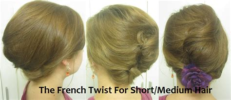 French Twist...for Short Hair