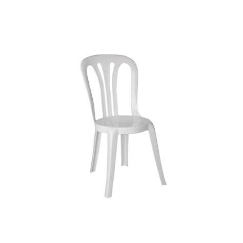Chaise Plastique Blanc chaise blanche mati 232 re plastique