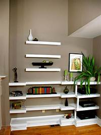 shelves for wall Decorating with Floating Shelves | HGTV