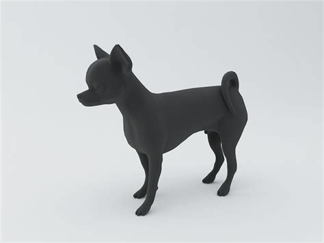 Chihuahua Dog D Model D Model D Printable Stl Cgtrader Com