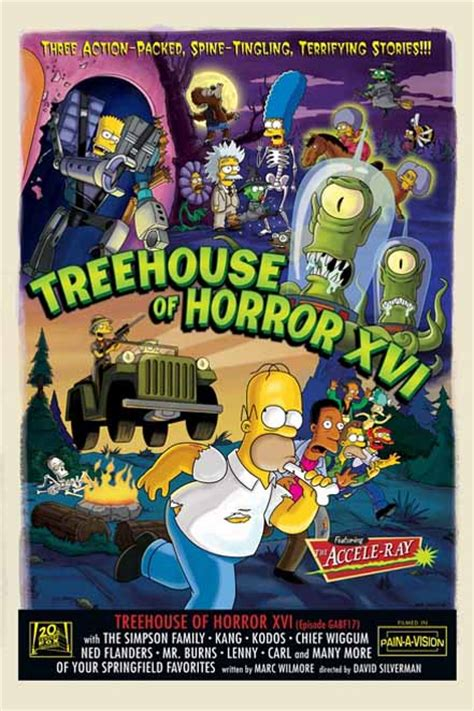 Treehouse Of Horror Xvi  Simpsons Wiki  Fandom Powered