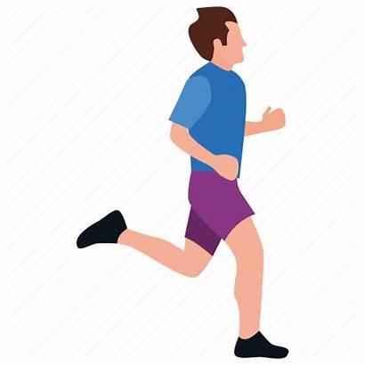 Running Icon Walking Jogging Run Woman Race