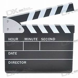 Cheap Cool Movie/Film Action Board Clock (220V AC)