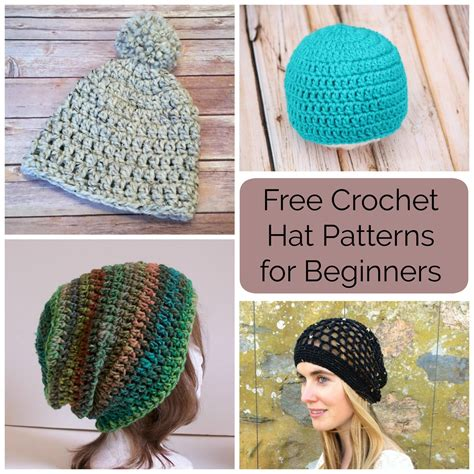 free crochet patterns for beginners 10 free crochet hat patterns for beginners